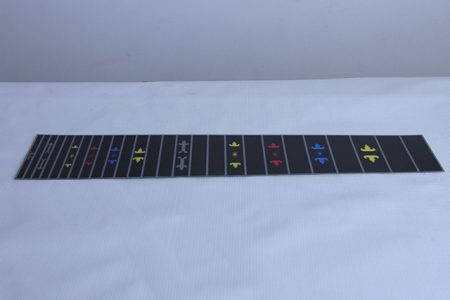 A genuine 10 string fretboard from Mullen Guitar