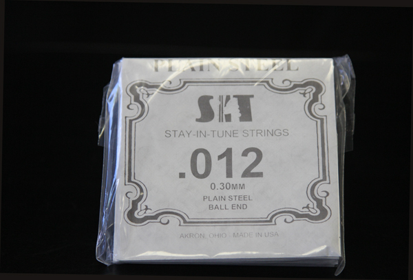 SIT single strings for use on lap or pedal steel