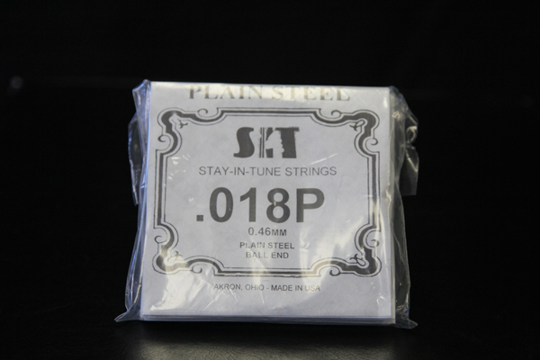 SIT .018 single strings for your 5th. string on the E9th