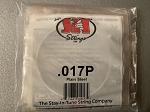 SIT .017 single strings for use on lap or pedal steel