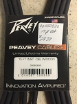 Peavey 15 ft. instrument cable, Ltd. Lifetime Warranty